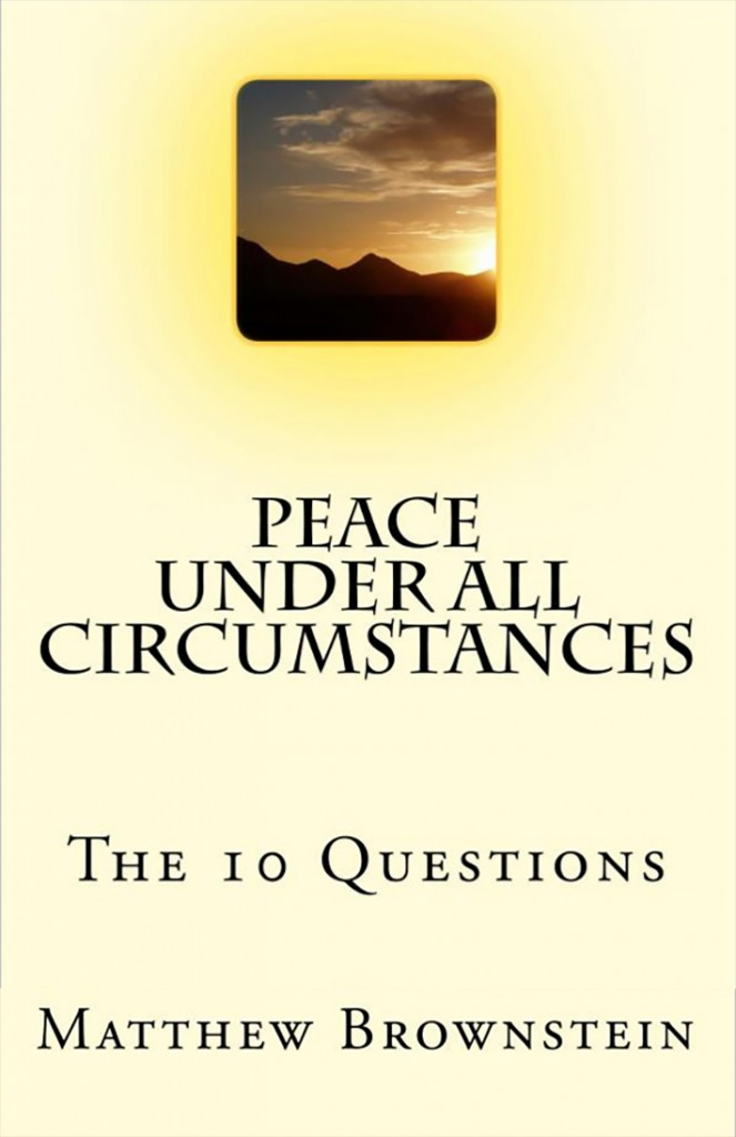 peace under all circumstances book