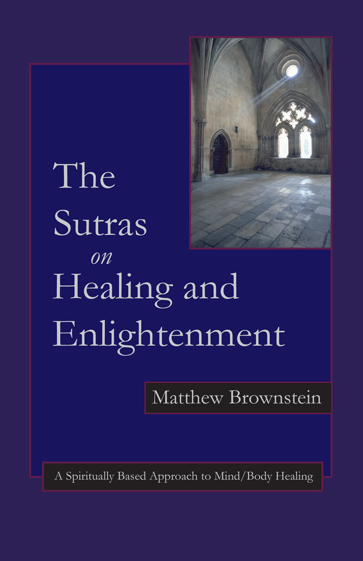 sutras on healing and enlightenment book