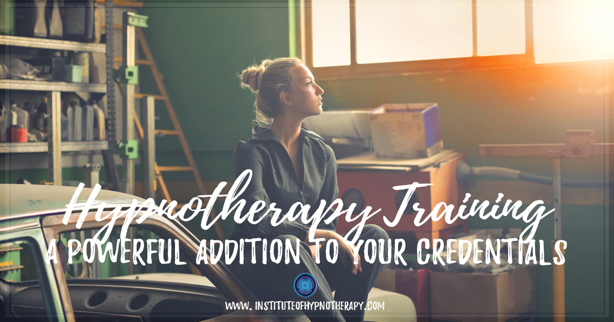 Adding Hypnotherapy Training to Your Credentials | Institute