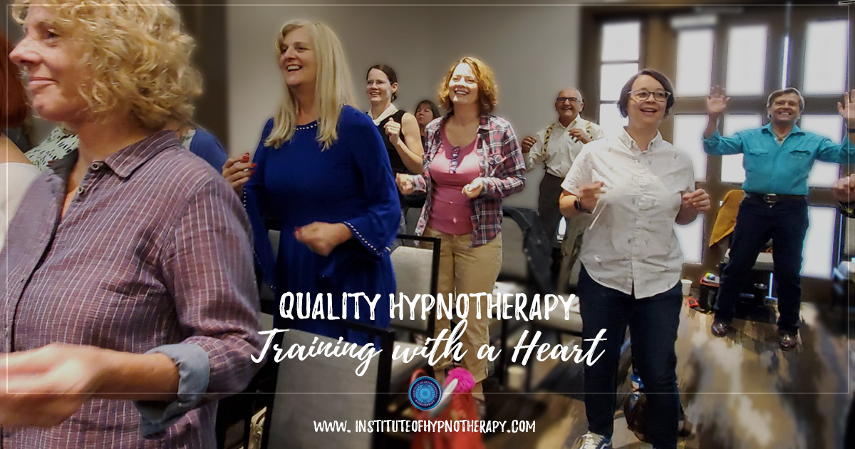 Quality Hypnotherapy Training with a Heart