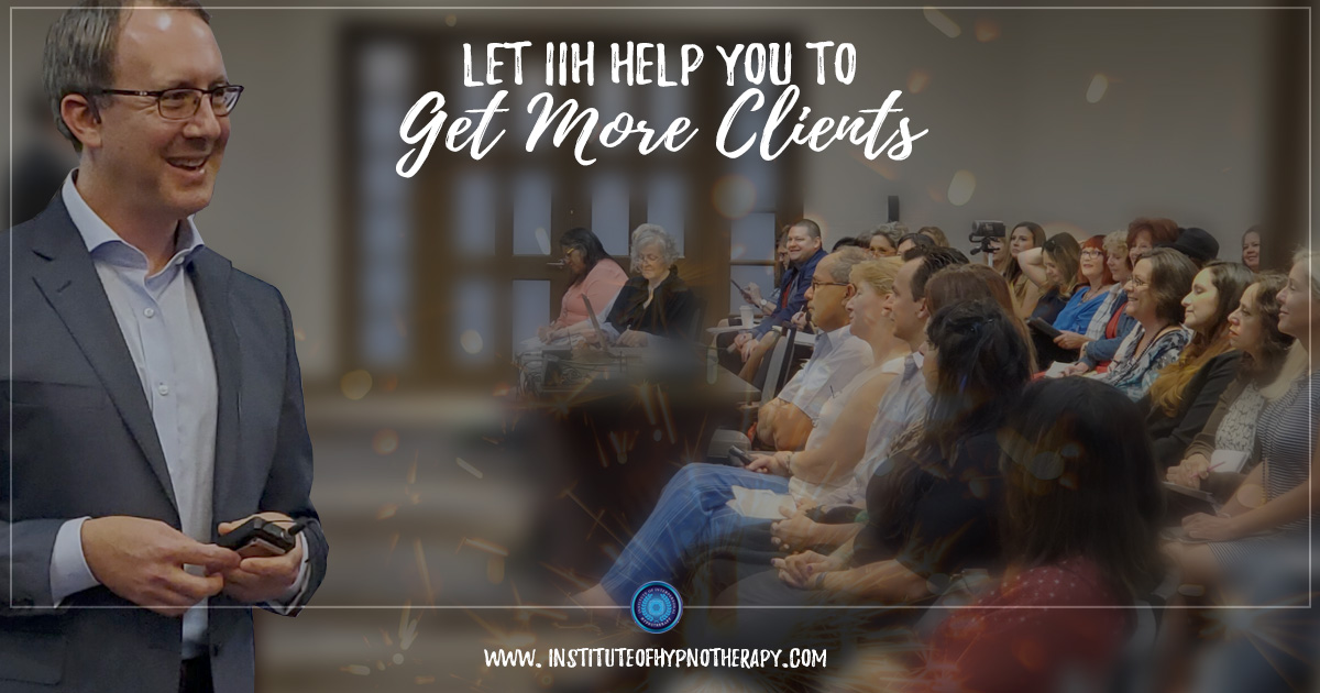 Let IIH Help You To Get More Clients
