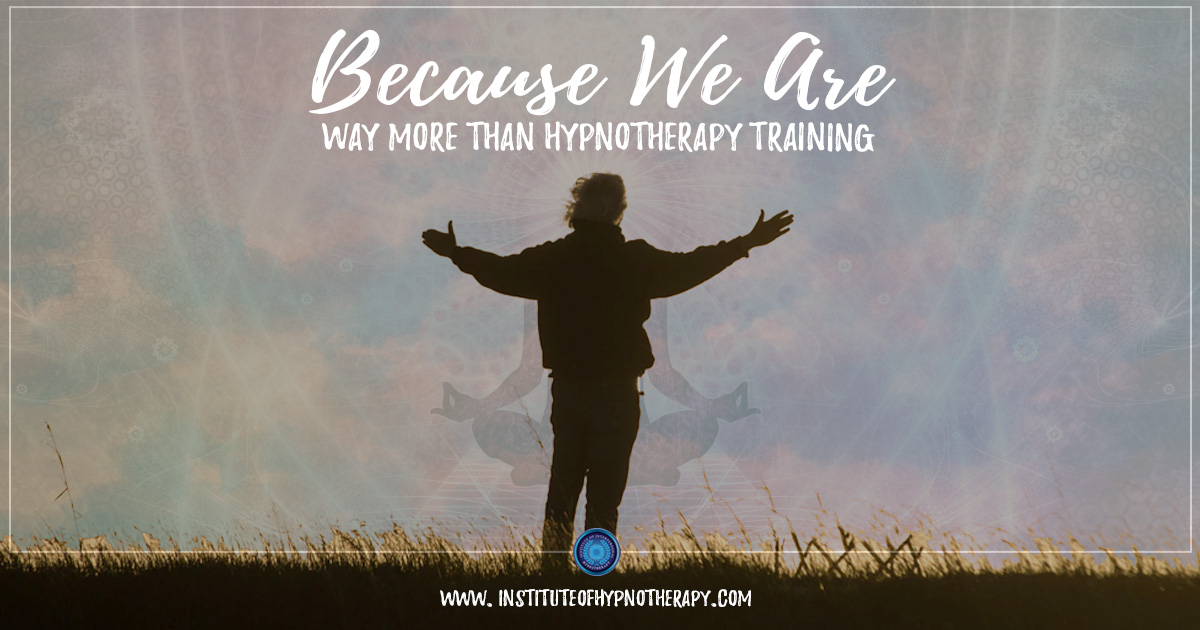 Way More Than Hypnotherapy Training