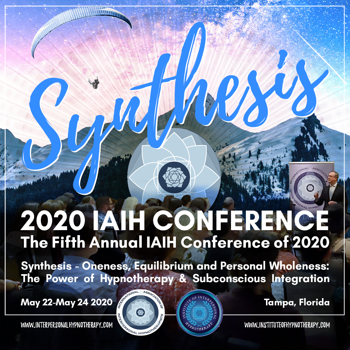 RESCHEDULING Fifth Annual IAIH Interpersonal Hypnotherapy Conference for 2021