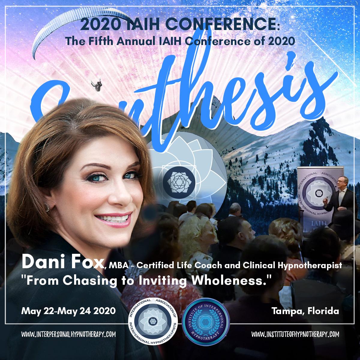 POSTPONED IAIH Conference – Showcasing Dani Fox