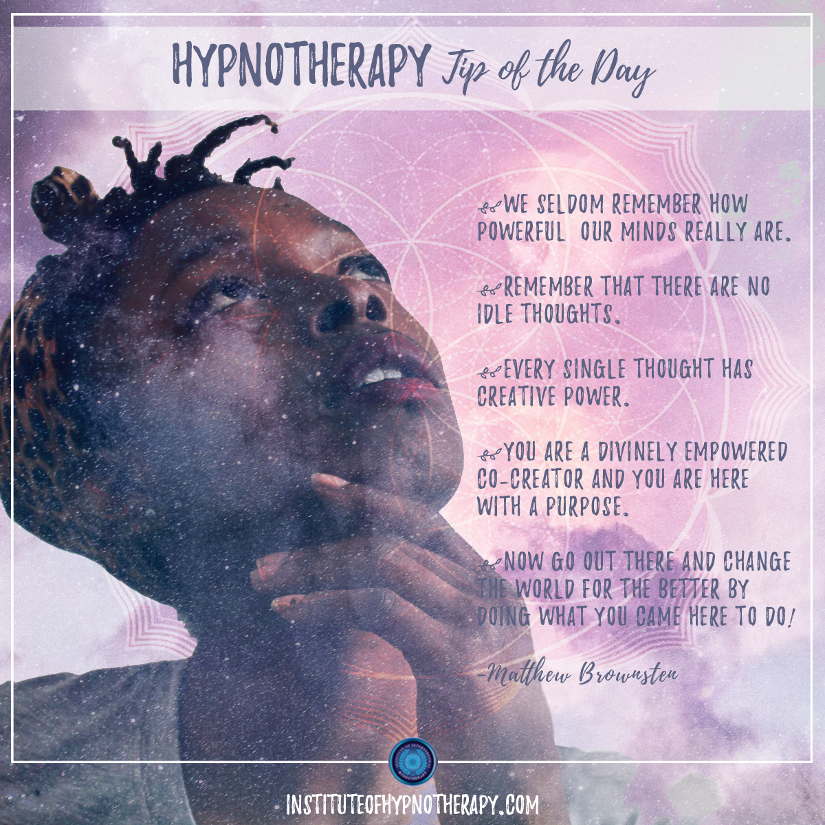 Hypnotherapy Tip of the Day – Power of the Mind