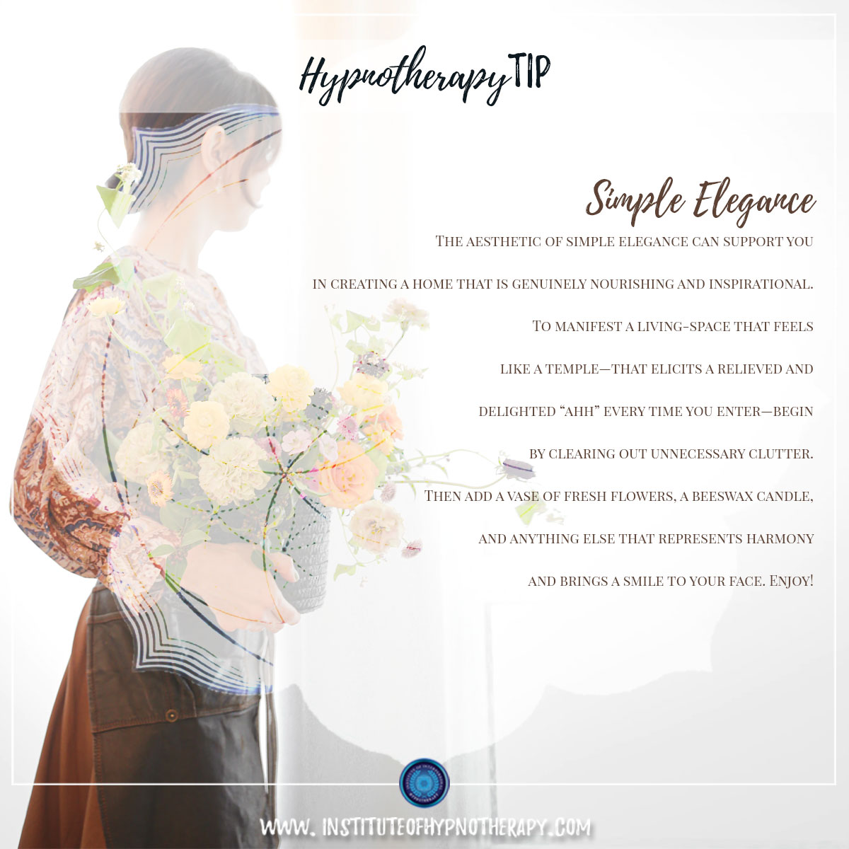 Hypnotherapy Tip : Simple Elegance