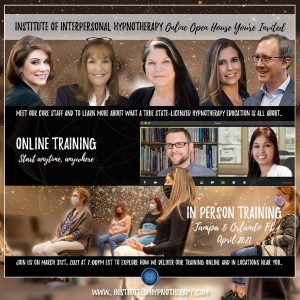 Hypnotherapy Training Online Open House