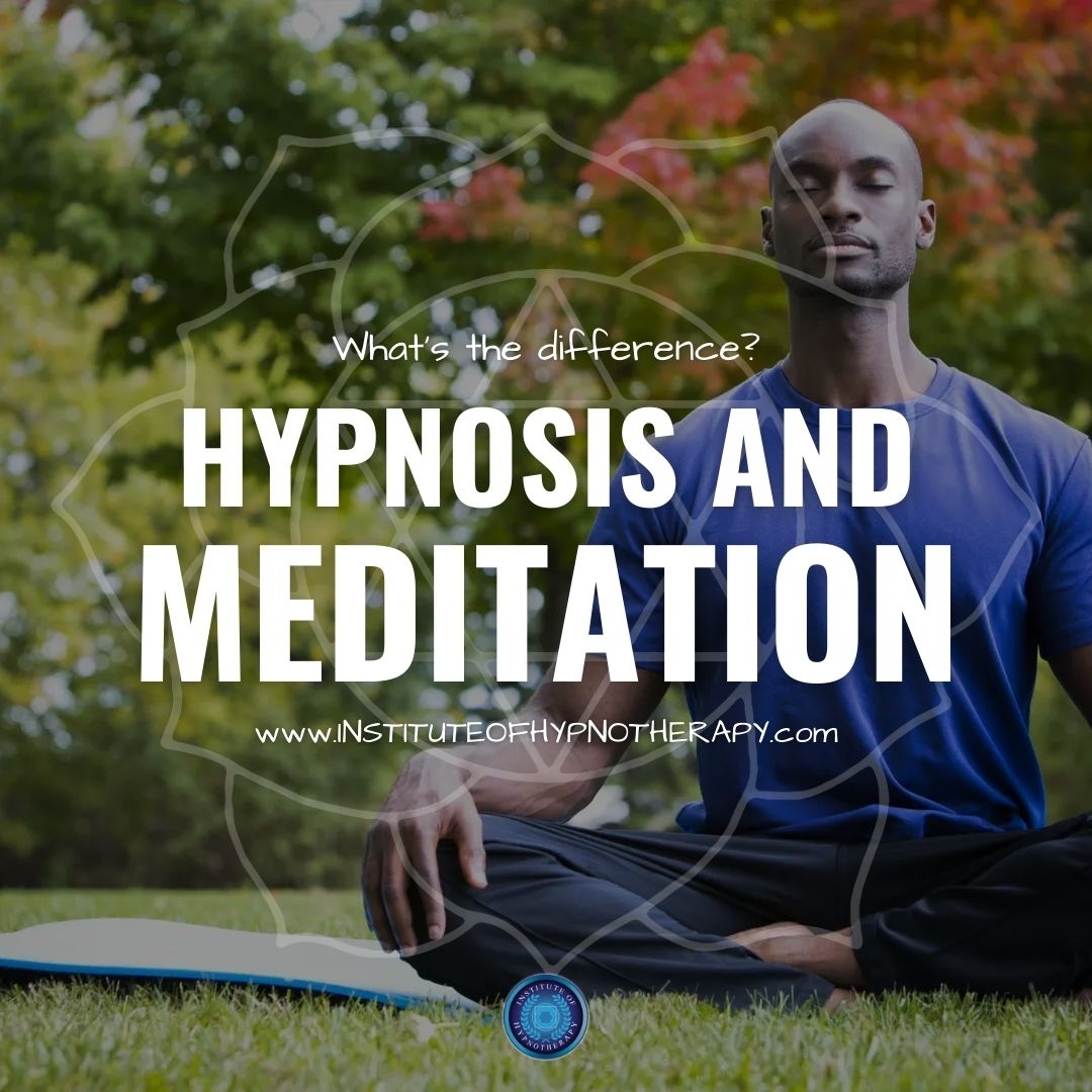 Is Hypnosis The Same As Meditation?